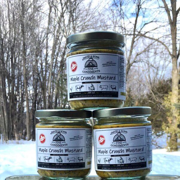 Maple Crunch Mustard – 200ml