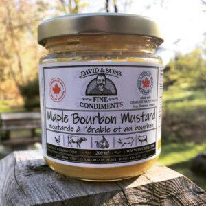 Maple Bourbon Mustard - 200 ml